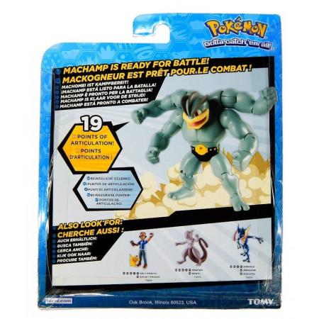 Pokemon MACHAMP ruchoma figurka TOMY