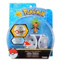 Pokemon Premier Ball Throw 'N' Pop z figurką Chespin TOMY
