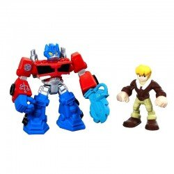 Transformers Rescue Bots OPTIMUS PRIME & CODY BURNS