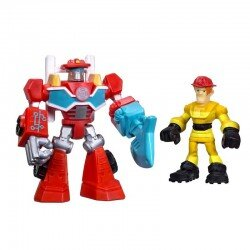 Transformers Rescue Bots HEATWAVE & KADE BURNS