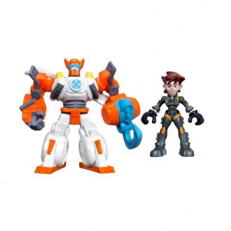 Transformers Rescue Bots OPTIMUS PRIME & CODY BURNS