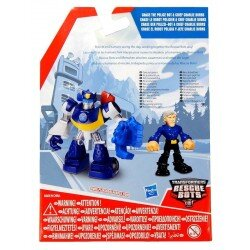 Transformers Rescue Bots CHASE & CHARLIE BURNS