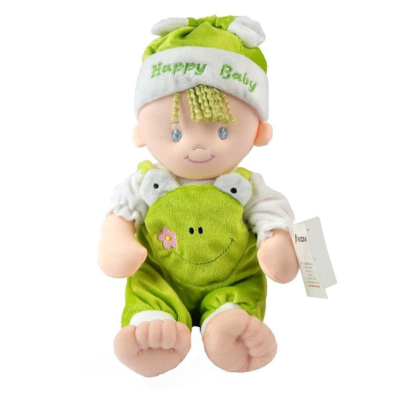 Lalka szmacianka John zielony 25 cm AXIOM