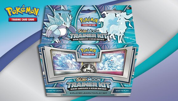 Pokemon TCG Alolan Sandslash Ninetals Trainer Kit