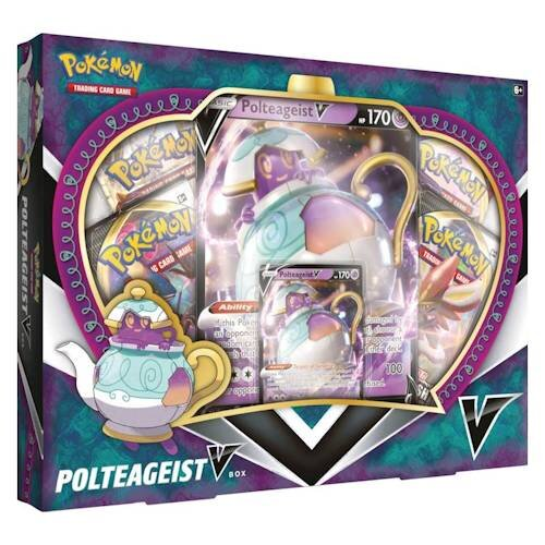 Pokemon Sword & Shield - Rebel Clash May'20 V Box - Polteageist