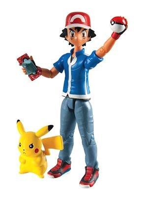 Zestaw Figurek Pokemon Ash + Pikachu
