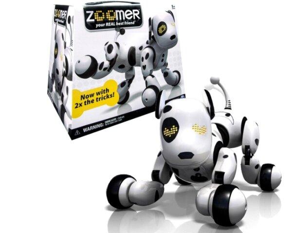 Zestaw inteligentny piesek Zoomer opakowania